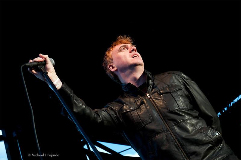 Paul McLoone The Undertones BYO Records' 13th Annual Punk Rock Bowling Music Festival Las Vegas, NV  May 29, 2011
