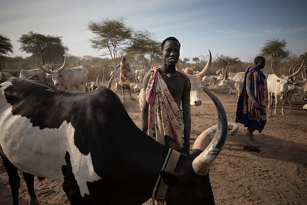 Three Days With The Mundari