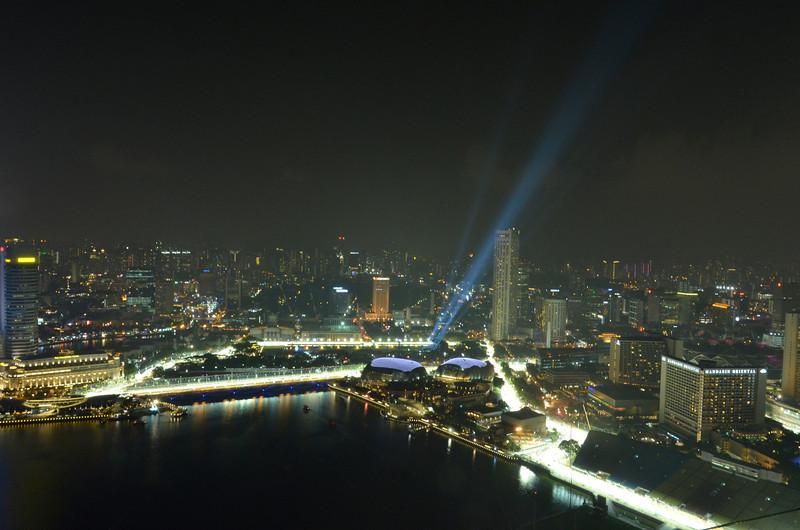 F1 night race course, Singapore
