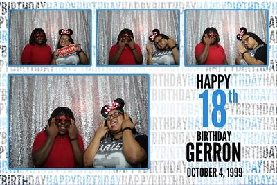 Gerron's 18th