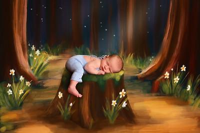 Jessica Codwell Newborn Shoot