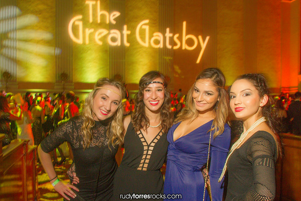 Drink Eat Play's Great Gatsby Party at the Park Plaza Hotel 8.19.2014