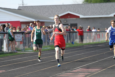 2013 MHSAA Highland Conference Boys 200 Meter