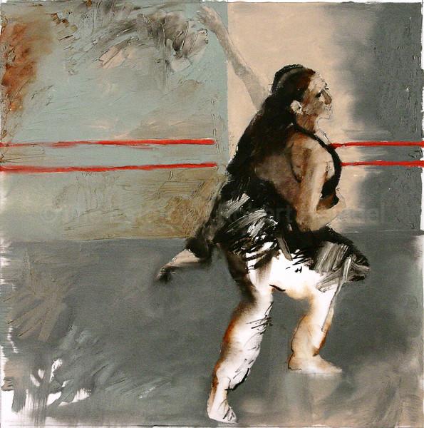 Color Study for 'Pas de Deux, Gray Studio' (2005)