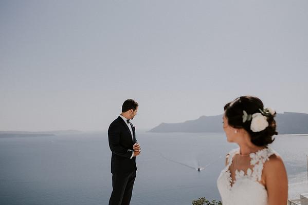 E + E | Santorini Hochzeit Rocabella Hotel