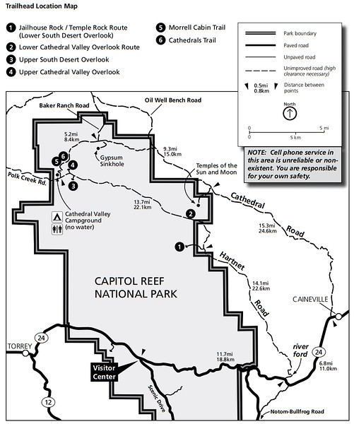 Capitol Reef National Park (Cathedral District)