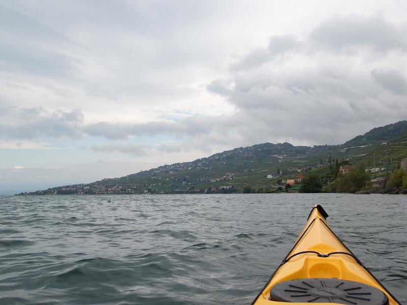 Quiet waters now…