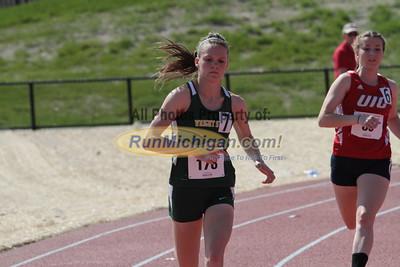 800M Women Prelims - 2015 Horizon League T&F Championships