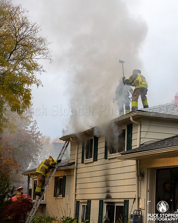 3 Alarm Dwelling Fire - 1269 Anita Rd, Grosse Pointe Woods, MI - 10/23/20
