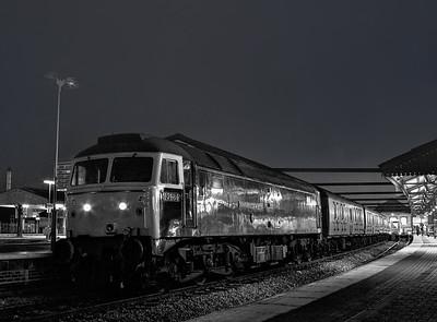 Class 47s at Night: 1981-1992.