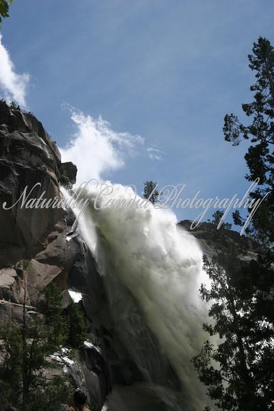 Nevada Falls. Pronounced (NEV-A-DA, not NEV-AH-DAH):) Yosemite National Park, CA.