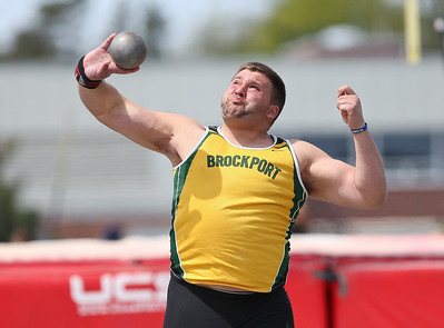 Brockport Outdoor Track and Field at Roberts Wesleyan 4-28-12