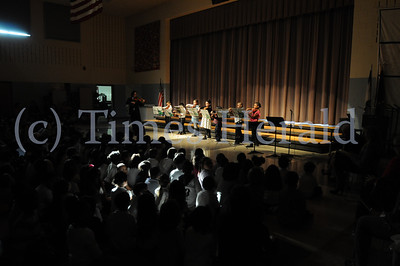 Whitehall 4th graders perform Winter Musical