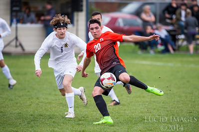 Ogden at Bonneville Boys Soccer 4-11-17