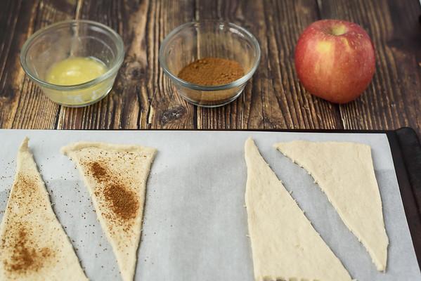 apple crescents