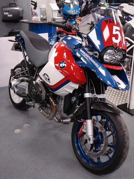 Panda Moto 89 BMW R1200GS SuperMoto (SuperMotard) 