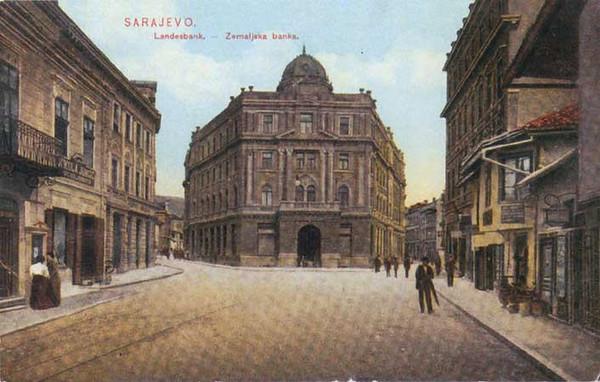 Zemaljska banka osnovana 1895. - 1909.