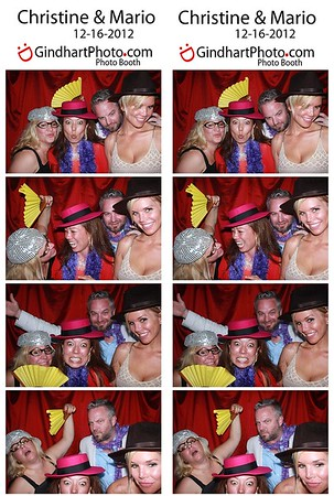 Christine & Mario's Photo Booth