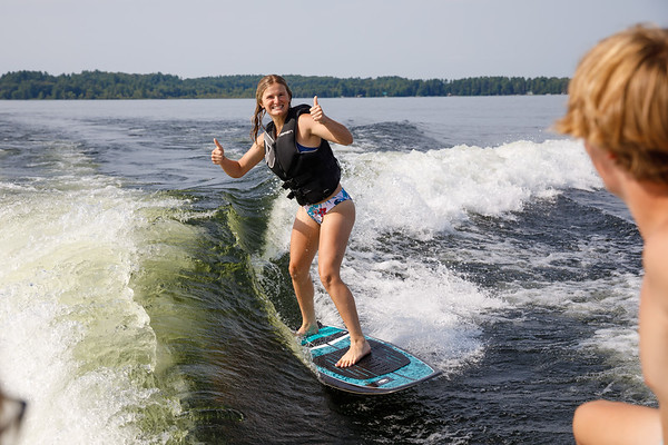 Wakesurfing with the Krizos