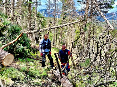 05-23-21 Rainbow Trail Clearing From FS-108 to Hayden Turnaround