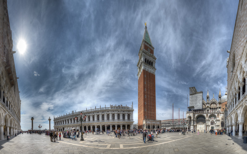 Piazza San Marco - Venice, Italy - April 18, 2014