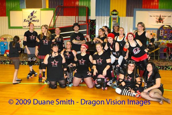 Star City vs. Little City Roller Girls 20090816
