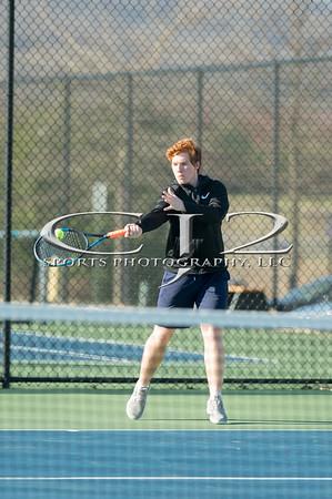 4-1-2019 Kettle Run at Woodgrove Boys Tennis (Varsity)
