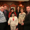 """Friend of Children"" Table Quiz organiser Dennis Mulgrew with Josephine O'Hare, Pat Maginn (mayor), Jackie Patterson, Rita & Asling Mc Polin and Niomi O'Hare, 06W18N64"
