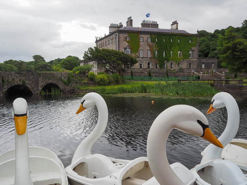 Westport House in County Mayo