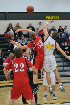 Boys JV Basketball - ADM 2008-2009