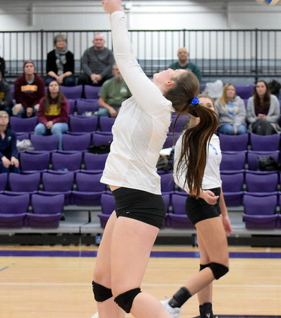 HS Sports - District volleyball semis at Woodhaven