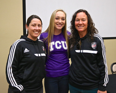 Liz Stewart Signs with TCU 2-18-15