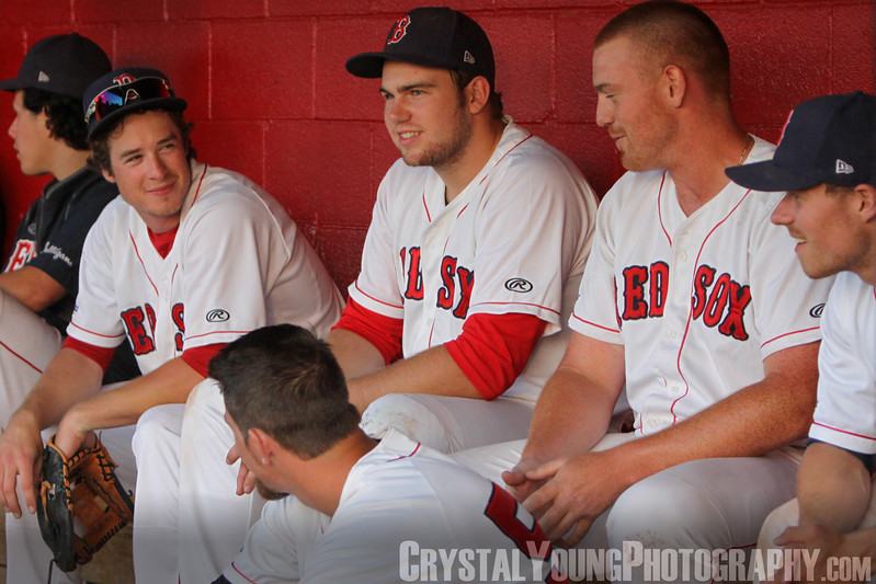 Barrie Baycats at Brantford Red Sox IBL Playoffs, Semifinals Game 6 August 18, 2014