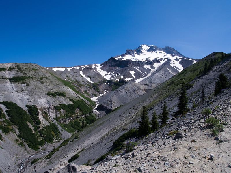 Zigzag canyon and Mt Hood