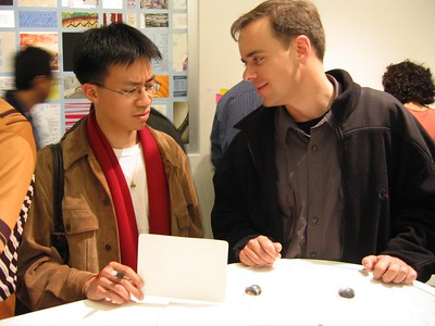 2005.05.12 Thursday - Dan Shafer's CA College of Art graduation exhibition