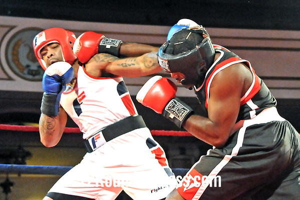 Bout #8  Kato Montgomery, Untouchable BA, Cleve. -vs-Bruce Moore, King's Gym, Cleve. 178 lbs. Novice