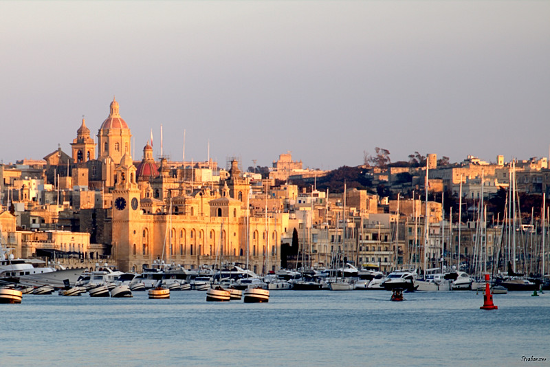 Birgu, Malta.   Looking towards the maritime Museum    03/24/2019