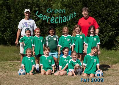 Green Leprechauns 2009