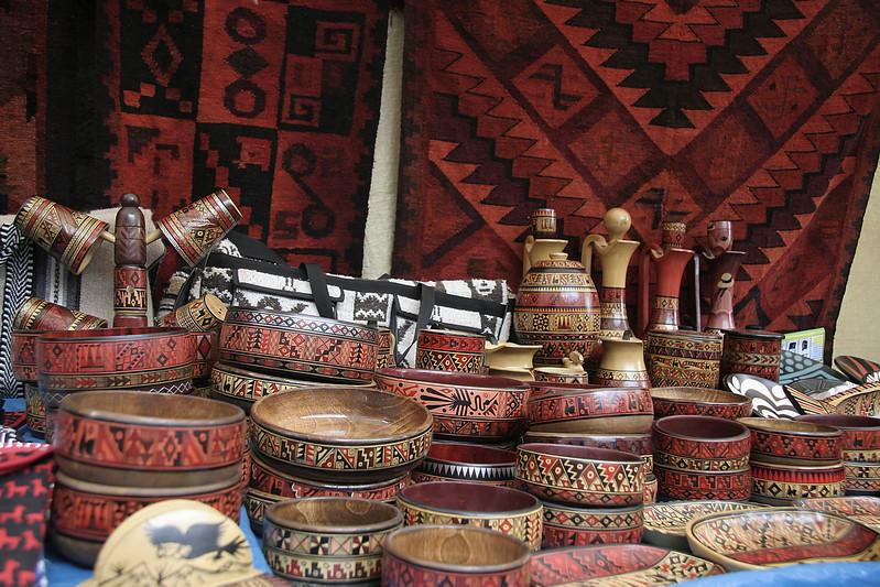 Pisac market