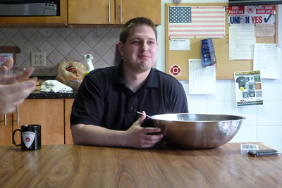 Curt's eating challenge