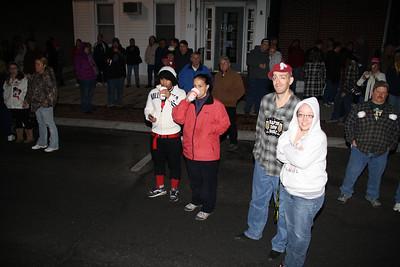 New Year's Eagle Rise, ABC High Rise, Tamaqua (12-31-2011)