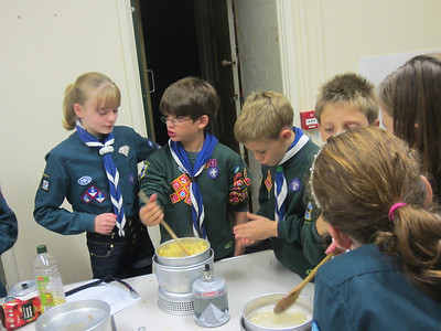 Cooking with the cubs