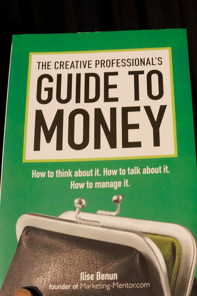 "Richard Fleming strongly recommended Ilise Benun's ""THE CREATIVE PROFESSIONAL'S GUIDE TO MONEY.""  For more information see her website.  http://marketing-mentor.com YesterdaysPhotos com-_DSC7579"