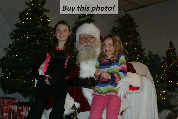 Santa Claus visits Sedan 12-01