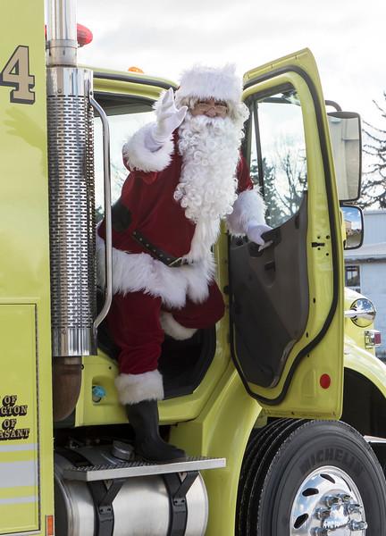 2017 Santa Visits MFD