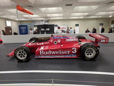 Mario Andretti: ICON Exhibit Opening - Indianapolis Motor Speedway Museum - 30 Apr. '19