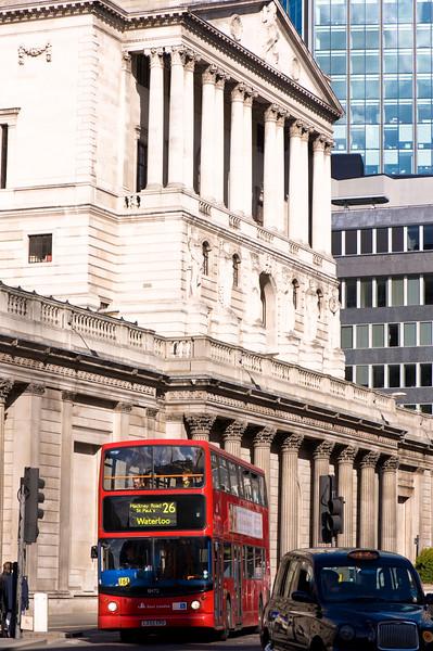 Bank of England, The City, London, United Kingdom