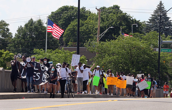 Black Lives Matter march in Lowell 062320