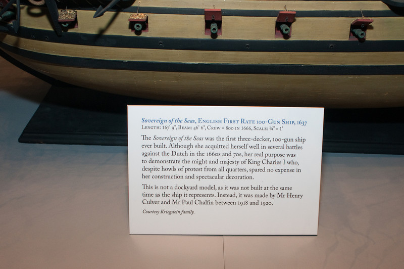 2009-10-03 - USNA Museum - 162 - Sovereign of the Seas - English 1st Rate 100-Gun Ship of 1637 (caption) - _DSC7563.jpg