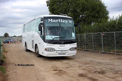 Electric Picnic Buses - Portlaoise / Stradbally, 31-08-2018
